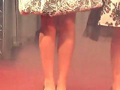 Nudist tanz, Die bühne, Beim tanzen, Öffentlichkeit