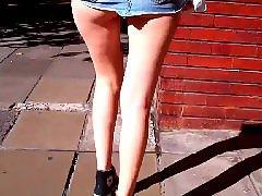 Upskirt street, Upskirt ass, Wows, Wowed, Skirting, Little latin