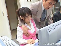 Japanese, Blowjob, Office