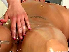 Lesbian massage, Lesbian threesome