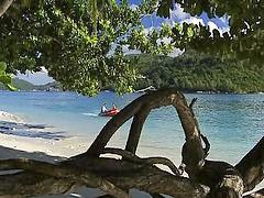 На анал, На пляже, Пляж возбуждает, Анальный