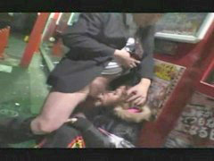 Forced, Drunk, Public, Force, Public blowjob, Forces