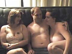 Threesome, Bbw, Amateur