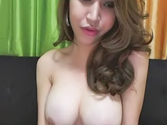 Ladyboy, Shemale, Ladyboys, Amateur tease, Amateur shemale, Webcam brunette