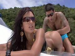 Brazilian, Brazilians, Brazilian girl fucking, Yacht, Brazilian l, Brazilian fuck