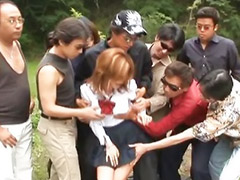 Japanese, Model asian, Hot model, Asian gang bang, Asian gangbang, Aru