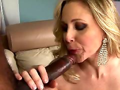 Big black cock, Big cock, Julia ann, Interracial, Cumshot, Milf