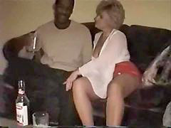 Drunk, Wife, Black, Swinger, Swingers, Creampie