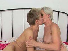 Kissing, Granny, Grannies, Kiss