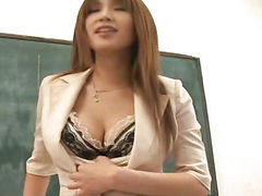 Teacher, Huge tits