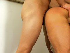 Bisexual, Boots, Boots strap-on, Boots licking, Anal licking, Cum from