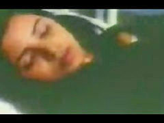 이란인, 입원, 여환자, 병원, 침, 가래침