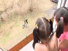 Fanny, Gta, Pigtailed, The fanny, R latinas, Pigtail