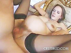 Mom, Mom anal, Anal, Pregnant, Stockings