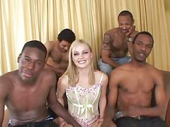 Gangbang blonde, Gangbang black, Blacks on blondes, Black on blonde, Black gangbangs, Blonds black