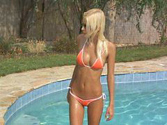 Casting, Skinny, Hungarian, Girl, First, Balls