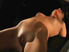 Rasage sexe, Rasage du sexe, Couple qui se masturbe, Domine, Douloureuse, Ligotage