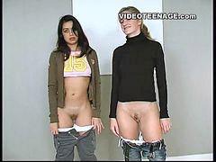 Video x remaja, Remaja pertama, Video lesbian anak remaja