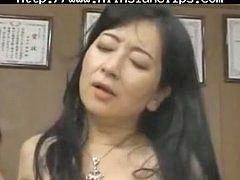 Japanese, Boss, Milf, Asian, Japanese teacher, Japanese milf