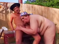 Outdoor mature, Fat masturbating, Mature masturbation, Fat fuck, Titfuck, Mature outdoor