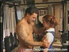 Daddy, Daughter, Young, Brutal