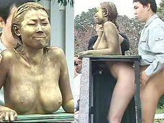 Nakes, Nakedü, Statues, Naked