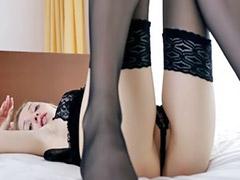 Blonde lingerie, Solo lingerie, Solo blonde masturbating, Negras pés, Negra pés, Masturbation lingerie