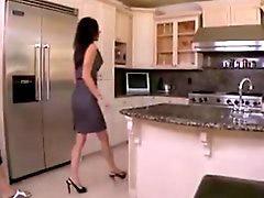 Follando cocina