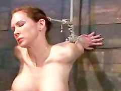 Brutal, Nipples, Sybian, Gagging, Huge dick, Nipple
