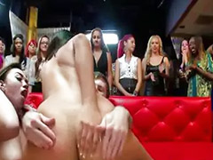 Throat fucked, Striptease, Party fuck, Pussy job, Party cfnm, Fuck party