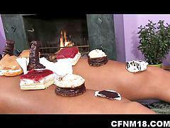 Serving, Cake