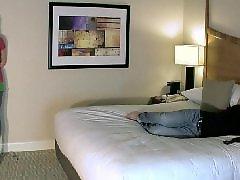 Upskirt, Hotel, Ballbusting
