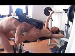 Amateur black, German amateur, Workout, German amateur couple, Amateur german, Work out