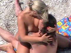 Rusıa, Rusės, Hidcame, Beach fuck, Beach couples, Beach couple