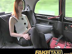 Big tits, Fake taxi