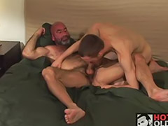 Sexo gay maduros, Casal maduro anal, Amador