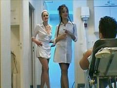 Mamando, Enfermeras, Lactando, Enfermeros, Mano, Enfermero