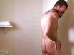Hot muscular, Johnny, Parker, Ùtg,, Tg,s, Solo male cum