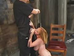 Bound, Bondage, Asian spanking, Vagina sex, Spankin, Blonde asian