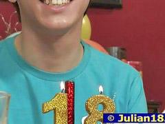 Julian, Birthdays party, Birthday party, Birthday, Julian 18, Birth