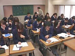 Japanes school girl, Jap school