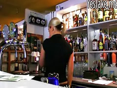 Jizz on, Jizz fuck, Jizz-on, Bartenders, Jizzed on, Tender