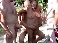 Gangbang, Nudist, Gang bang