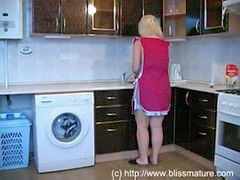Russian mom, Russian, Mom, Kitchen, With mom