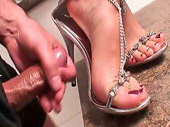 Shoejob, Shoejobs, And feet, `shoejob, Cum, feet, Cum on feet