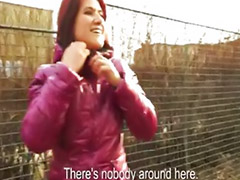 Girls flashing, Czech girls, Redhead blowjob, Flashing public, Flash public, Czech girl