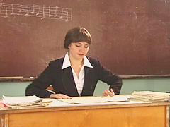 Russian, Boys, Teacher