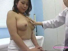 Asian, Nurse, Doctor, Milk, Nipples