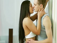 Anna, Romantic, Romantic couple, Young brunette, Romantics, Erotic young