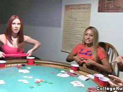 College, Party, Poker, Strip